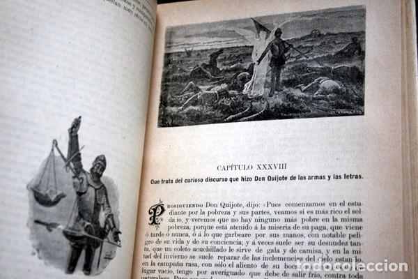 Libros antiguos: DON QUIJOTE DE LA MANCHA - CERVANTES - CALLEJA - PERLA - M. ANGEL CARRETERO - SAMPIETRO - SANTAMARIA - Foto 10 - 103121227