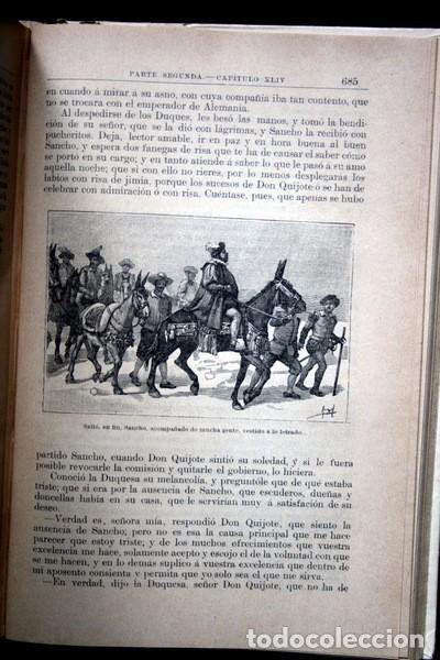 Libros antiguos: DON QUIJOTE DE LA MANCHA - CERVANTES - CALLEJA - PERLA - M. ANGEL CARRETERO - SAMPIETRO - SANTAMARIA - Foto 11 - 103121227