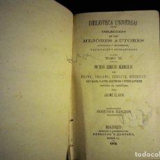 Libros antiguos: 1902 POESÍAS LÍRICAS ALEMANAS COLECCIOS ANTIGUOS Y MODERNOS, TOMO VI. Lote 103346087