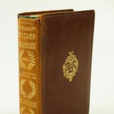 Libros antiguos: OBRAS COMPLETAS GUSTAVO ADOLFO BECQUER, 1934, ED. AGUILAR. 10,5X15,5CM. Lote 103482019