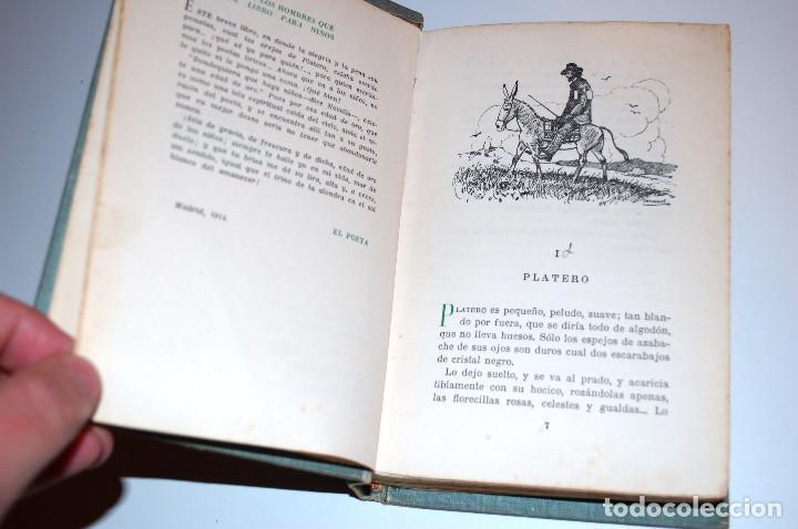 Libros antiguos: PLATERO Y YO. ELEGIA ANDALUZA 1907 - 1916. SELECCIONES AIRON. (VER DESCRIPCIÓN Y FOTOS) - Foto 6 - 103756895