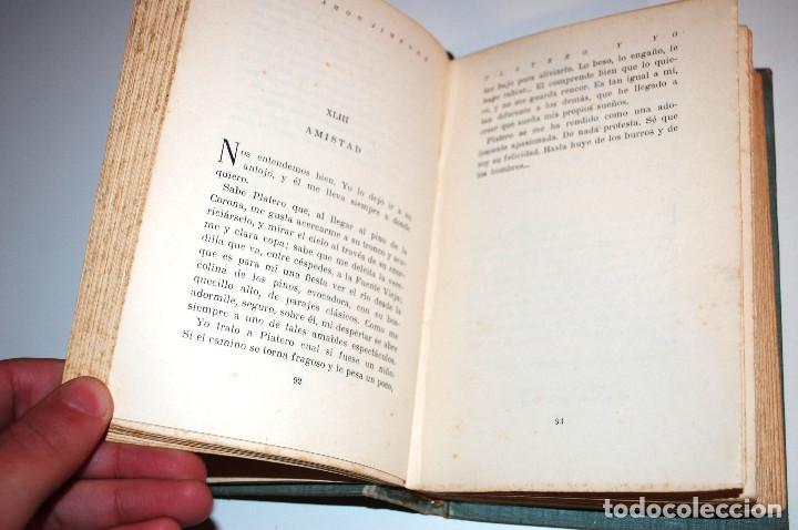 Libros antiguos: PLATERO Y YO. ELEGIA ANDALUZA 1907 - 1916. SELECCIONES AIRON. (VER DESCRIPCIÓN Y FOTOS) - Foto 10 - 103756895
