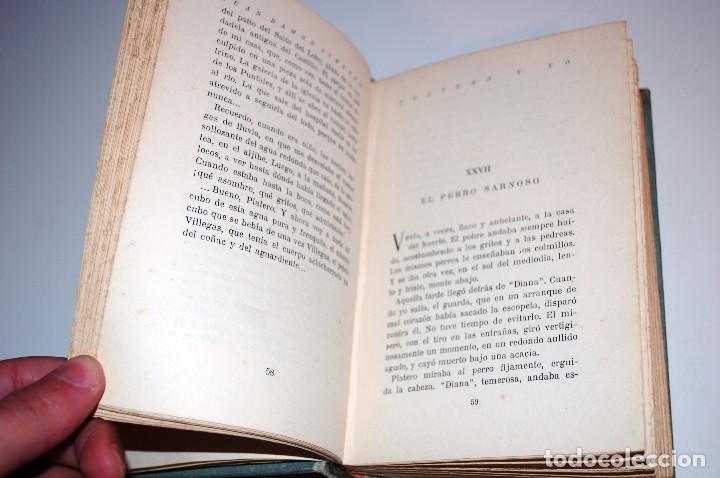 Libros antiguos: PLATERO Y YO. ELEGIA ANDALUZA 1907 - 1916. SELECCIONES AIRON. (VER DESCRIPCIÓN Y FOTOS) - Foto 11 - 103756895