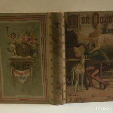 Libros antiguos: CERVANTES SAAVEDRA, MIGUEL DE. EL INGENIOSO HIDALGO DON QUIJOTE DE LA MANCHA. ED. CALLEJA, 1904.. Lote 103946119