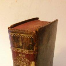 Libros antiguos: 1826 - CERVANTES - DON QUIJOTE DE LA MANCHA - 2 TOMOS, COMPLETO. Lote 104048059