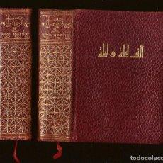 Libros antiguos: LAS MIL NOCHES Y UNA NOCHE – VERSIÓN CAST. DE BLASCO IBÁÑEZ – ED. AHR, 1965 – 2 TOMOS. Lote 104127051
