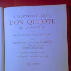 Libros antiguos: EL INGENIOSO HIDALGO DON QUIJOTE DE LA MANCHA - AÑO 1967. Lote 126724650