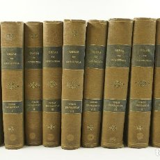 Libros antiguos: OBRAS DE LOPE DE VEGA, 1916-1930, REAL ACADEMIA ESPAÑOLA, 13 TOMOS. 18,5X27CM. Lote 105144799