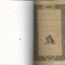 Libros antiguos: MENENDEZ Y PELAYO OBRAS COMPLETAS ODAS EPISTOLAS Y TRAGEDIAS MADRID 1883. Lote 105151211