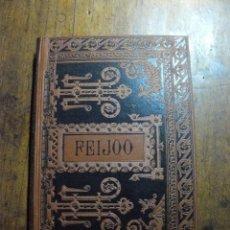 Libros antiguos: FEIJOO -OBRAS ESCOGIDAS-1884-BIBLIOTECA CÁSICA ESPAÑOLA. Lote 105365579