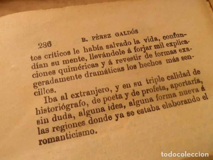 Libros antiguos: EL TERROR DE 1824 Y UN VOLUNTARIO REALISTA, B.P. GALDÓS 1929 -EPISODIOS NACIONALES II- - Foto 8 - 105739071