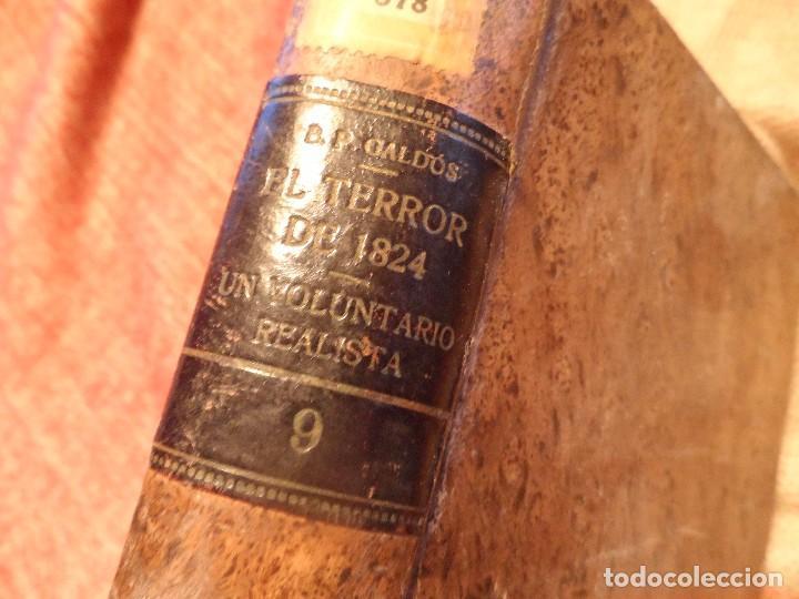 Libros antiguos: EL TERROR DE 1824 Y UN VOLUNTARIO REALISTA, B.P. GALDÓS 1929 -EPISODIOS NACIONALES II- - Foto 14 - 105739071
