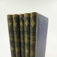 Libros antiguos: LOS MISERABLES, VICTOR HUGO, ILUSTRACIONES LABARTA, 5 TOMOS, BARCELONA. 21X27CM. Lote 105876151