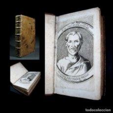Libros antiguos: AÑO 1677 LAS COMEDIAS DE TERENCIO ANTIGUA ROMA IMPONENTE FRONTISPICIO GRABADO. Lote 105947067