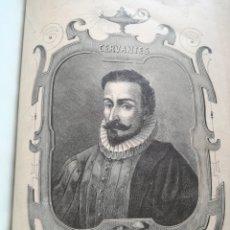 Libros antiguos: DON QUIJOTE DE LA MANCHA (1880) - MIGUEL DE CERVANTES, CON LÁMINAS DE RAMON PUIGGARÍ. Lote 106074270