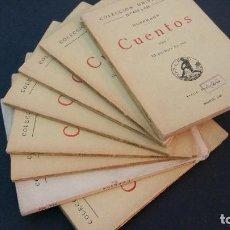 Libros antiguos: 1922 - HOFFMANN - CUENTOS - 9 TOMOS, CALPE COLECCIÓN UNIVERSAL. Lote 106239335