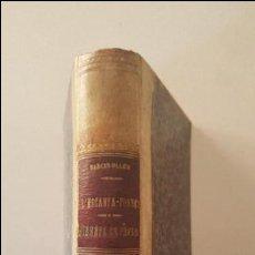 Libros antiguos: L'ESCANYA-POBRES -NARCIS OLLER-1884-POEMETS EN PROSA. Lote 92457600