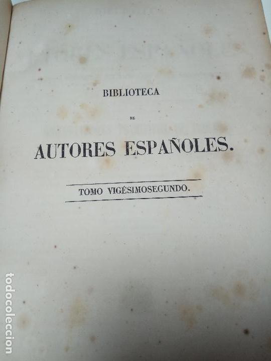 Libros antiguos: HISTORIADORES PRIMITIVOS DE INDIAS - B. DE AUTORES ESPAÑOLES - TOMOS XXII Y XXVI - 1852 Y 1853 - - Foto 2 - 107708651