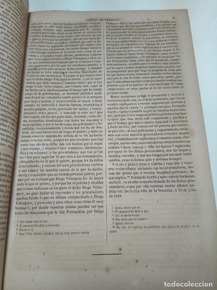 Libros antiguos: HISTORIADORES PRIMITIVOS DE INDIAS - B. DE AUTORES ESPAÑOLES - TOMOS XXII Y XXVI - 1852 Y 1853 - - Foto 4 - 107708651