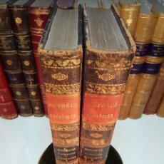 Libros antiguos: NOVELISTAS POSTERIORES A CERVANTES - 2 TOMOS - B. DE AUTORES ESPAÑOLES -1851 - MADRID -. Lote 108369199