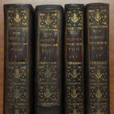 Libros antiguos: EL INGENIOSO HIDALGO DON QUIXOTE DE LA MANCHA. IBARRA, 1782. 4 TOMOS. 24 LÁMINAS Y UN MAPA PLEGADO.. Lote 108988911