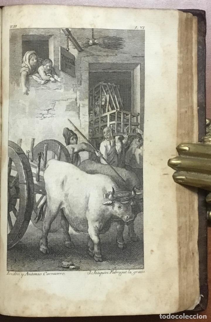 Libros antiguos: EL INGENIOSO HIDALGO DON QUIXOTE DE LA MANCHA. IBARRA, 1782. 4 TOMOS. 24 LÁMINAS Y UN MAPA PLEGADO. - Foto 6 - 108988911