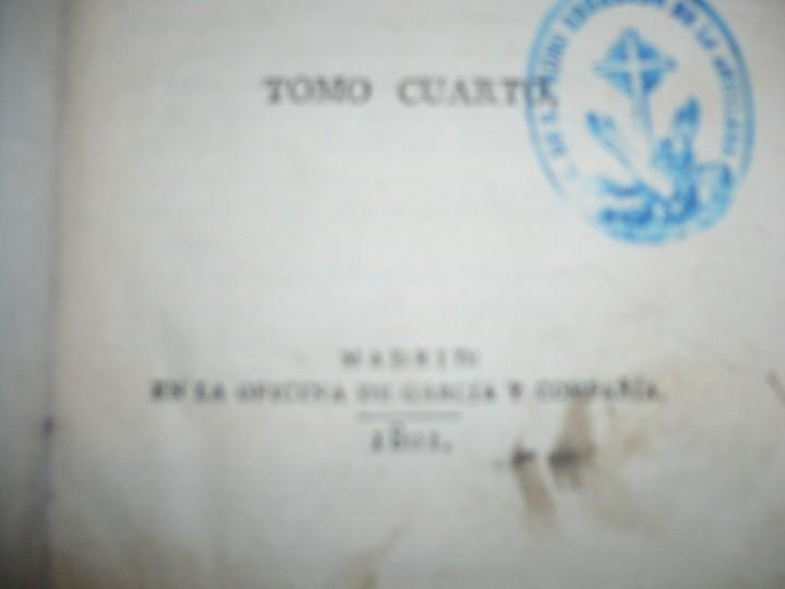 Libros antiguos: LECCIONES SOBRE RETORICA Y BELLAS LETRAS HUGO BLAIR 1801 MADRID TOMO 4º - Foto 4 - 109044999