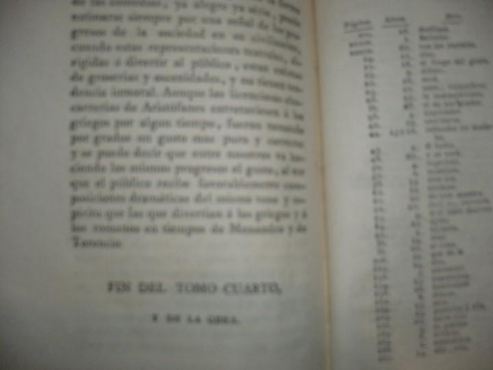 Libros antiguos: LECCIONES SOBRE RETORICA Y BELLAS LETRAS HUGO BLAIR 1801 MADRID TOMO 4º - Foto 9 - 109044999