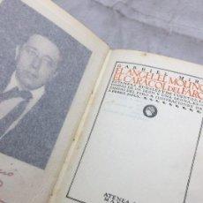 Libros antiguos: EL ANGEL EL MOLINO EL CARACOL DEL FARO GABRIEL MIRÓ 1º EDICIÓN 1921 ATENEA ILUSTRADA PEREZ DOLS. Lote 109364715