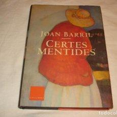 Libros antiguos: CERTES MENTIDES ( CIERTAS MENTIRAS ). Lote 109388427