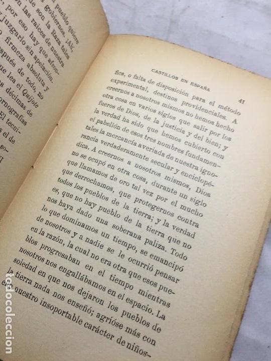 Libros antiguos: Castillos en España Eugenio Noel Valladolid ppios siglo XX Raices de la tragedia española - Foto 6 - 109407035