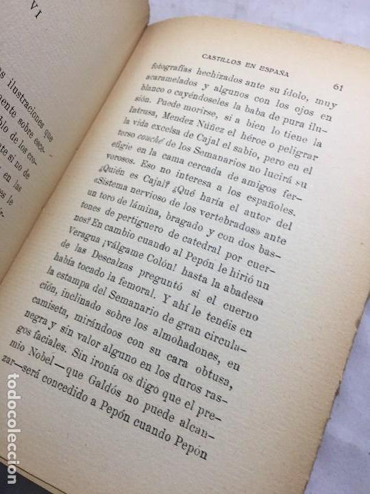 Libros antiguos: Castillos en España Eugenio Noel Valladolid ppios siglo XX Raices de la tragedia española - Foto 8 - 109407035