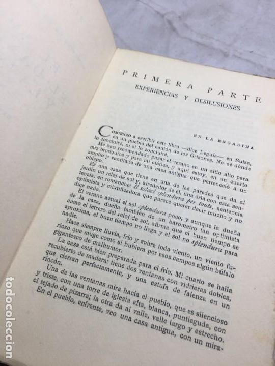 Libros antiguos: El Amor el dandysmo y la intriga Pío Baroja 1923 Caro Raggio editor 2ª edición - Foto 4 - 109434635