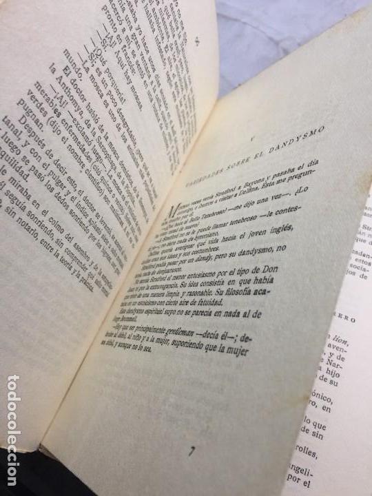 Libros antiguos: El Amor el dandysmo y la intriga Pío Baroja 1923 Caro Raggio editor 2ª edición - Foto 7 - 109434635