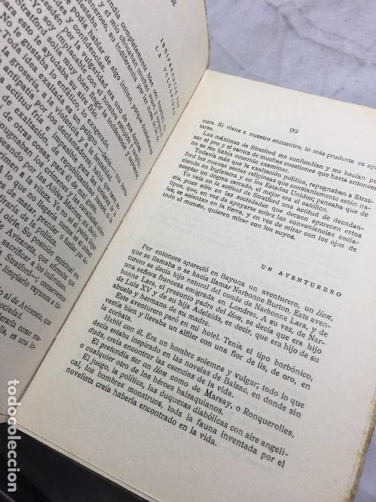 Libros antiguos: El Amor el dandysmo y la intriga Pío Baroja 1923 Caro Raggio editor 2ª edición - Foto 8 - 109434635