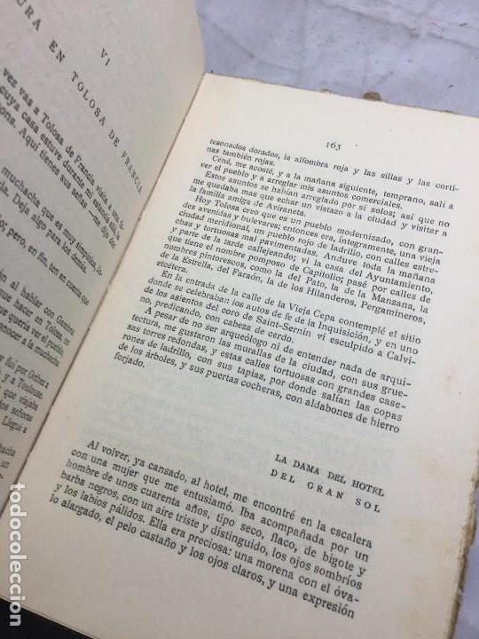 Libros antiguos: El Amor el dandysmo y la intriga Pío Baroja 1923 Caro Raggio editor 2ª edición - Foto 10 - 109434635
