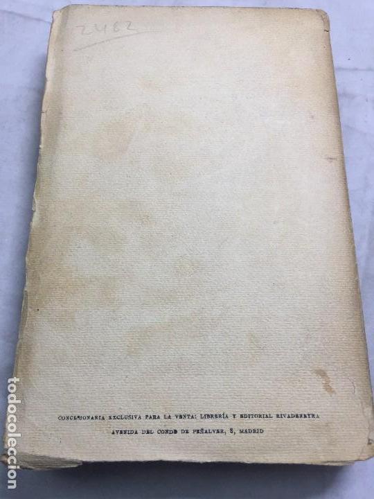 Libros antiguos: El Amor el dandysmo y la intriga Pío Baroja 1923 Caro Raggio editor 2ª edición - Foto 13 - 109434635