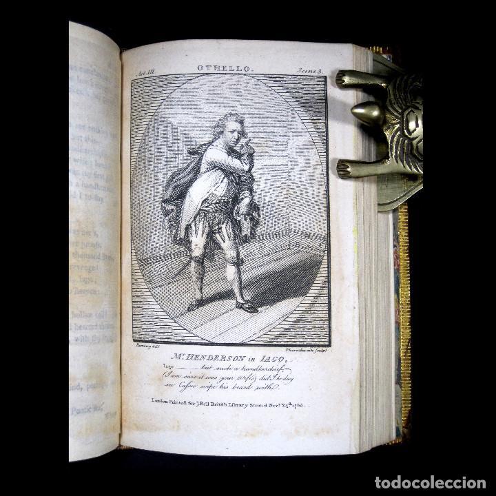 Libros antiguos: Año 1788 Shakespeare Otelo Troilo y Crésida 4 grabados a plena página 2 obras en un volúmen Othello - Foto 3 - 109644651