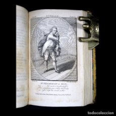 Libros antiguos: AÑO 1788 SHAKESPEARE OTELO TROILO Y CRÉSIDA 4 GRABADOS A PLENA PÁGINA 2 OBRAS EN UN VOLÚMEN OTHELLO. Lote 109644651