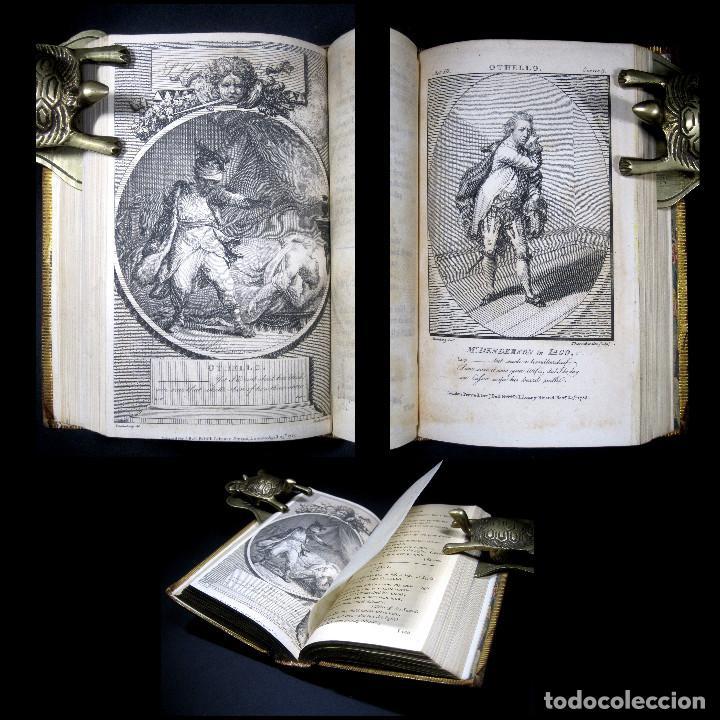 Libros antiguos: Año 1788 Shakespeare Otelo Troilo y Crésida 4 grabados a plena página 2 obras en un volúmen Othello - Foto 2 - 109644651