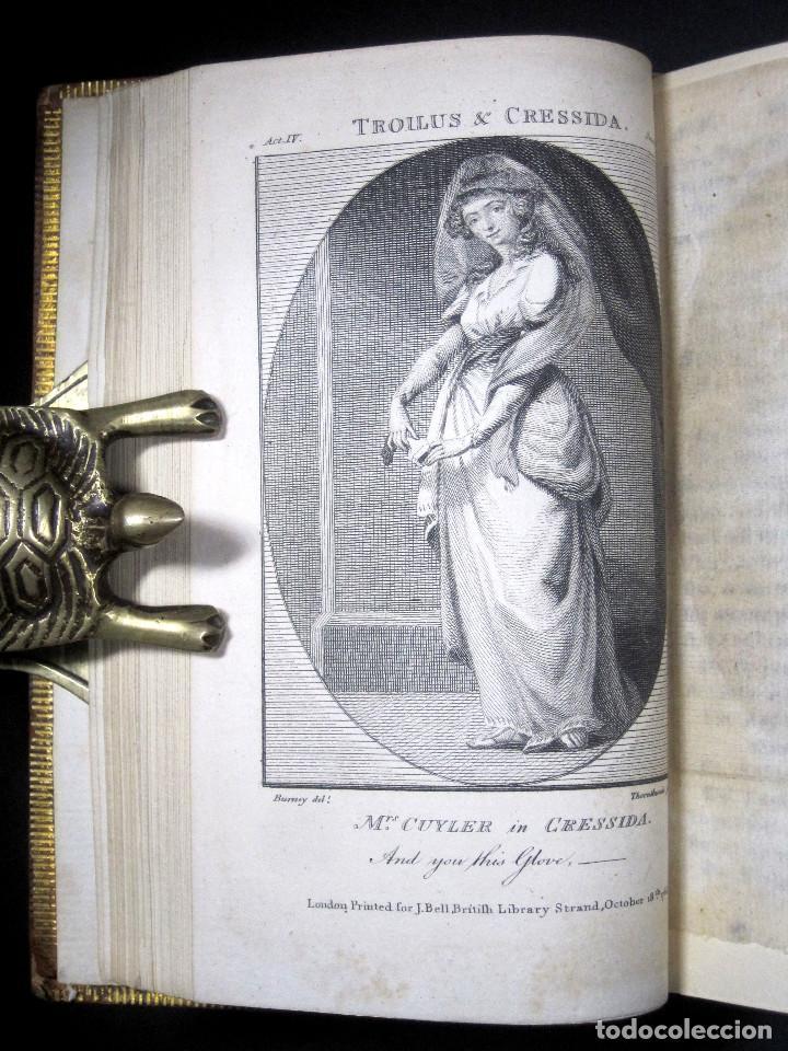 Libros antiguos: Año 1788 Shakespeare Otelo Troilo y Crésida 4 grabados a plena página 2 obras en un volúmen Othello - Foto 4 - 109644651