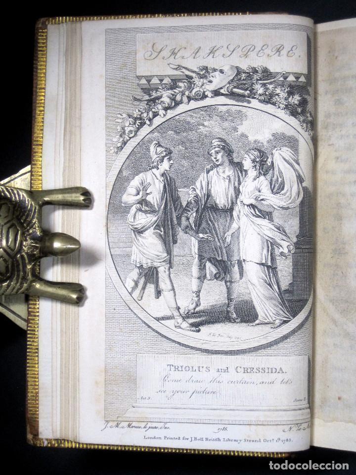 Libros antiguos: Año 1788 Shakespeare Otelo Troilo y Crésida 4 grabados a plena página 2 obras en un volúmen Othello - Foto 5 - 109644651