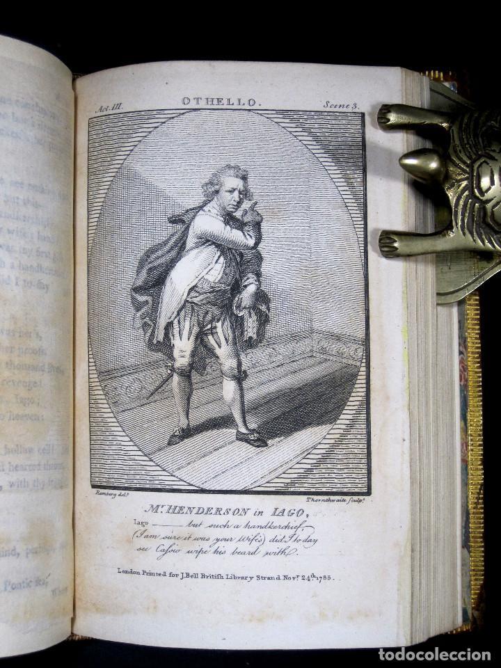 Libros antiguos: Año 1788 Shakespeare Otelo Troilo y Crésida 4 grabados a plena página 2 obras en un volúmen Othello - Foto 16 - 109644651
