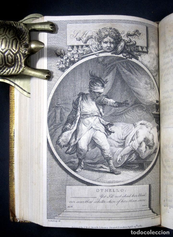 Libros antiguos: Año 1788 Shakespeare Otelo Troilo y Crésida 4 grabados a plena página 2 obras en un volúmen Othello - Foto 6 - 109644651
