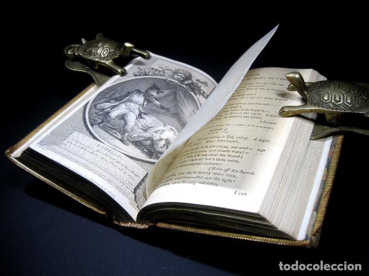 Libros antiguos: Año 1788 Shakespeare Otelo Troilo y Crésida 4 grabados a plena página 2 obras en un volúmen Othello - Foto 12 - 109644651