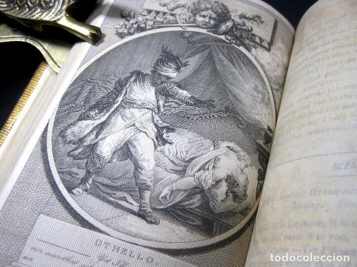 Libros antiguos: Año 1788 Shakespeare Otelo Troilo y Crésida 4 grabados a plena página 2 obras en un volúmen Othello - Foto 14 - 109644651