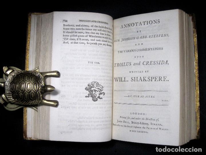 Libros antiguos: Año 1788 Shakespeare Otelo Troilo y Crésida 4 grabados a plena página 2 obras en un volúmen Othello - Foto 15 - 109644651