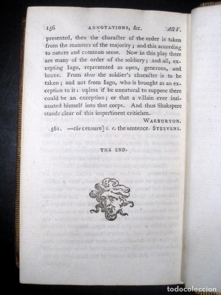 Libros antiguos: Año 1788 Shakespeare Otelo Troilo y Crésida 4 grabados a plena página 2 obras en un volúmen Othello - Foto 17 - 109644651