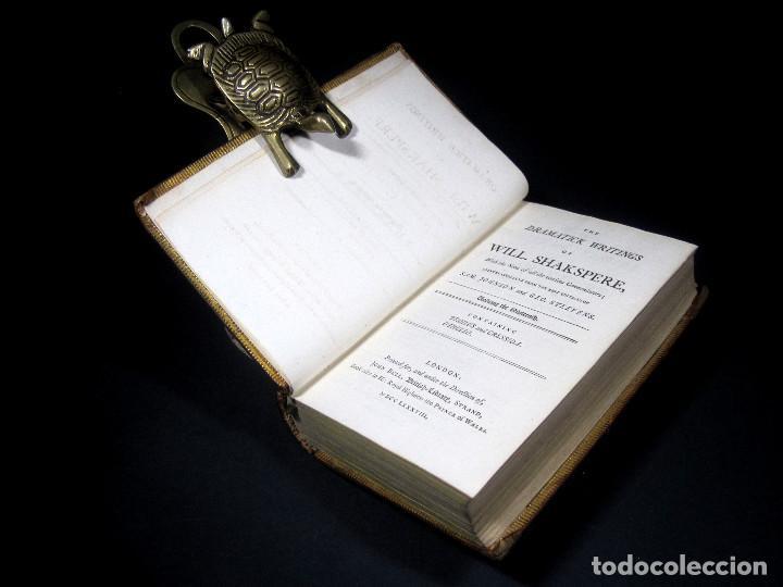 Libros antiguos: Año 1788 Shakespeare Otelo Troilo y Crésida 4 grabados a plena página 2 obras en un volúmen Othello - Foto 22 - 109644651