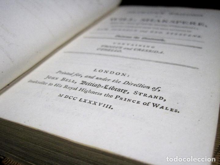 Libros antiguos: Año 1788 Shakespeare Otelo Troilo y Crésida 4 grabados a plena página 2 obras en un volúmen Othello - Foto 23 - 109644651